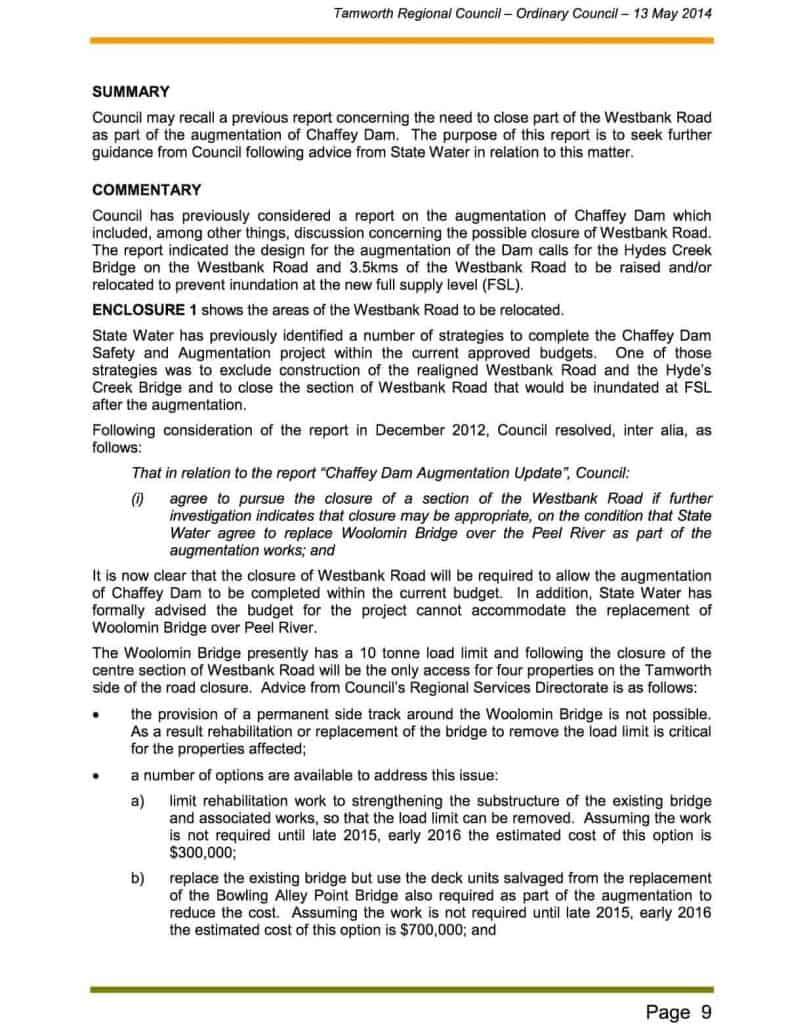 Agenda of Ordinary Meeting - 13 May 20142b