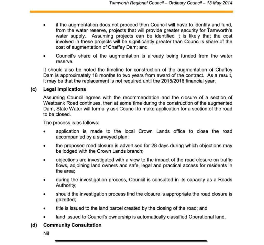 Agenda of Ordinary Meeting - 13 May 20144b