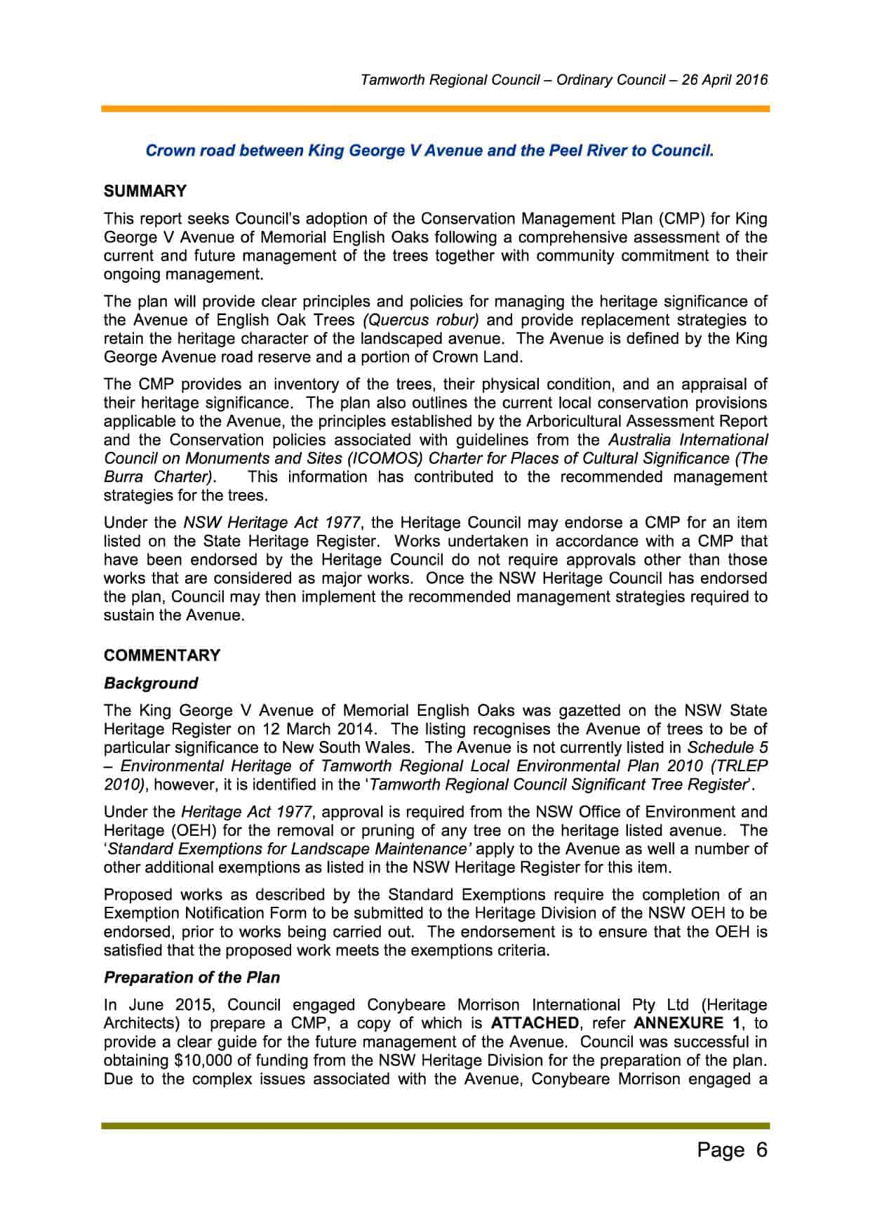 Business Paper - Ordinary Council Meeting 26 April 2016 v2 (1)2