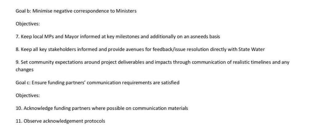 Chaffey Dam Communication Strategy7b