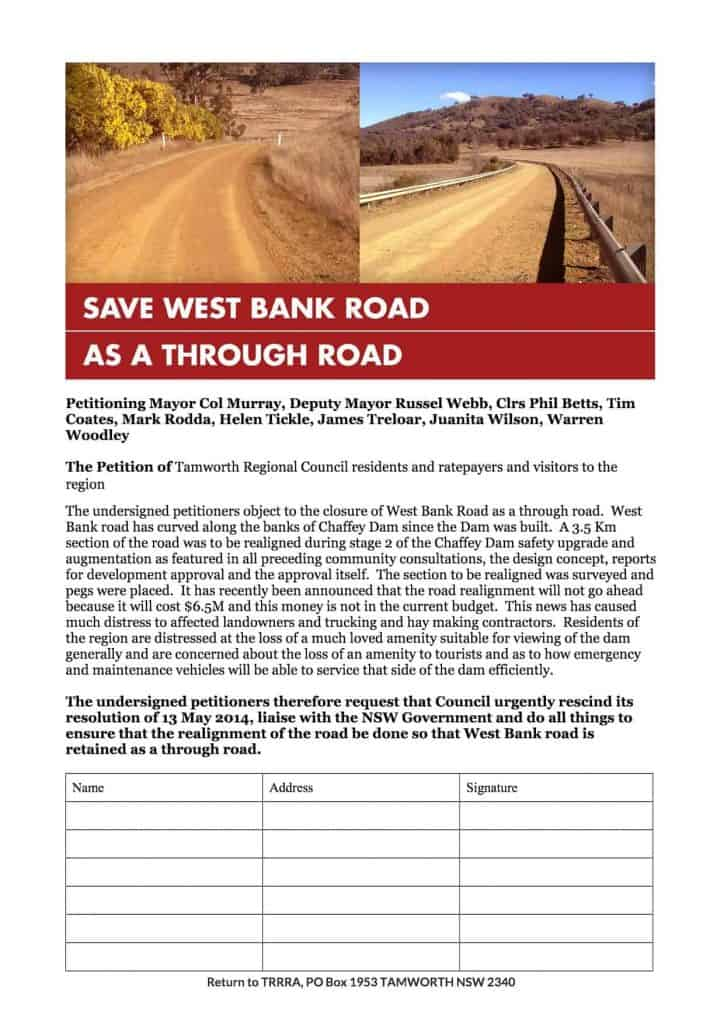 TAMWORTH REGIONAL COUNCIL PETITION _1_
