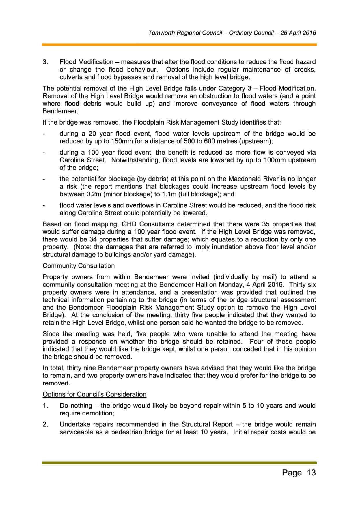 Business Paper - Ordinary Council Meeting 26 April 2016 v23