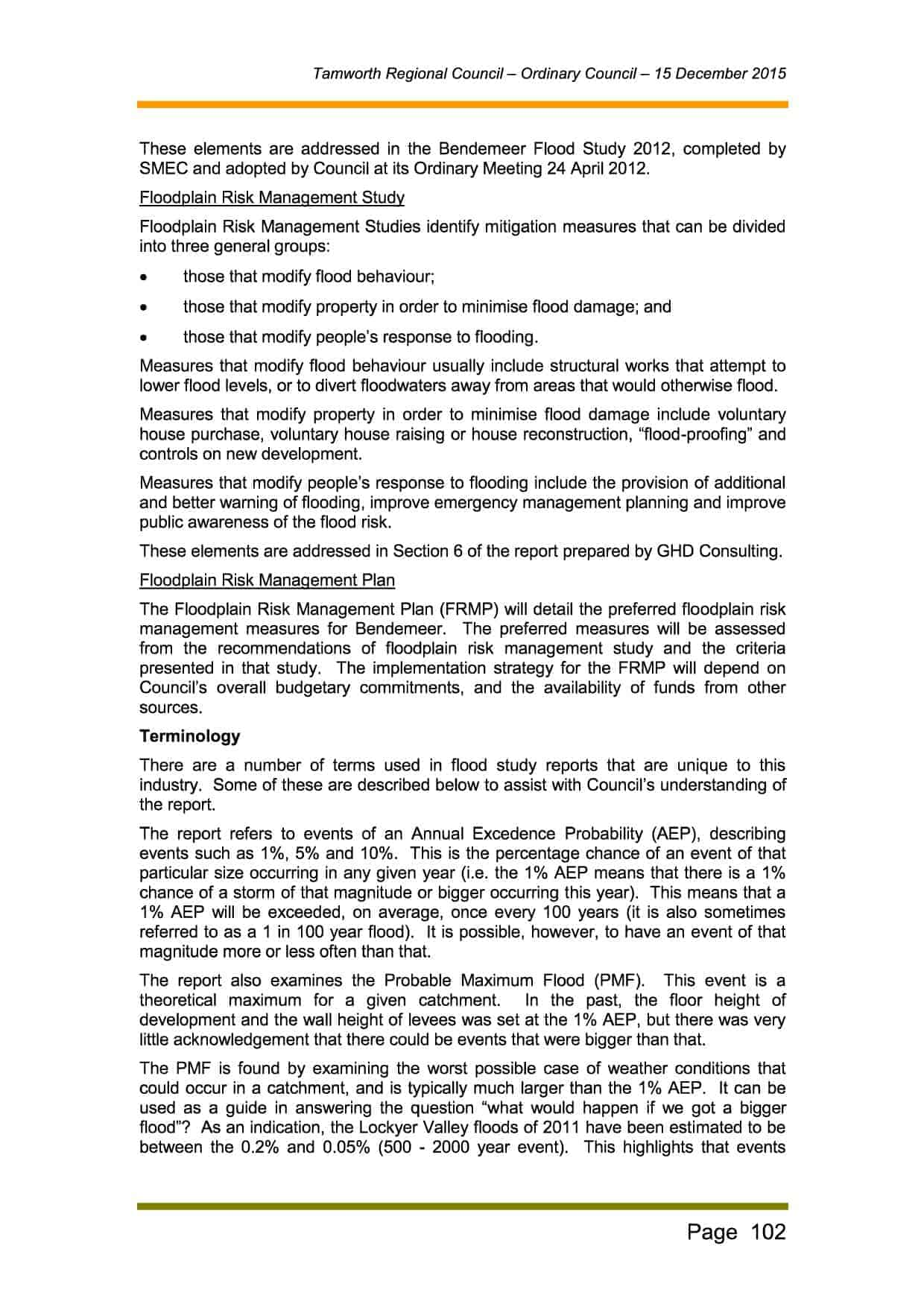 OPEN Business Paper - Ordinary Council 15 December 2015 (1)3